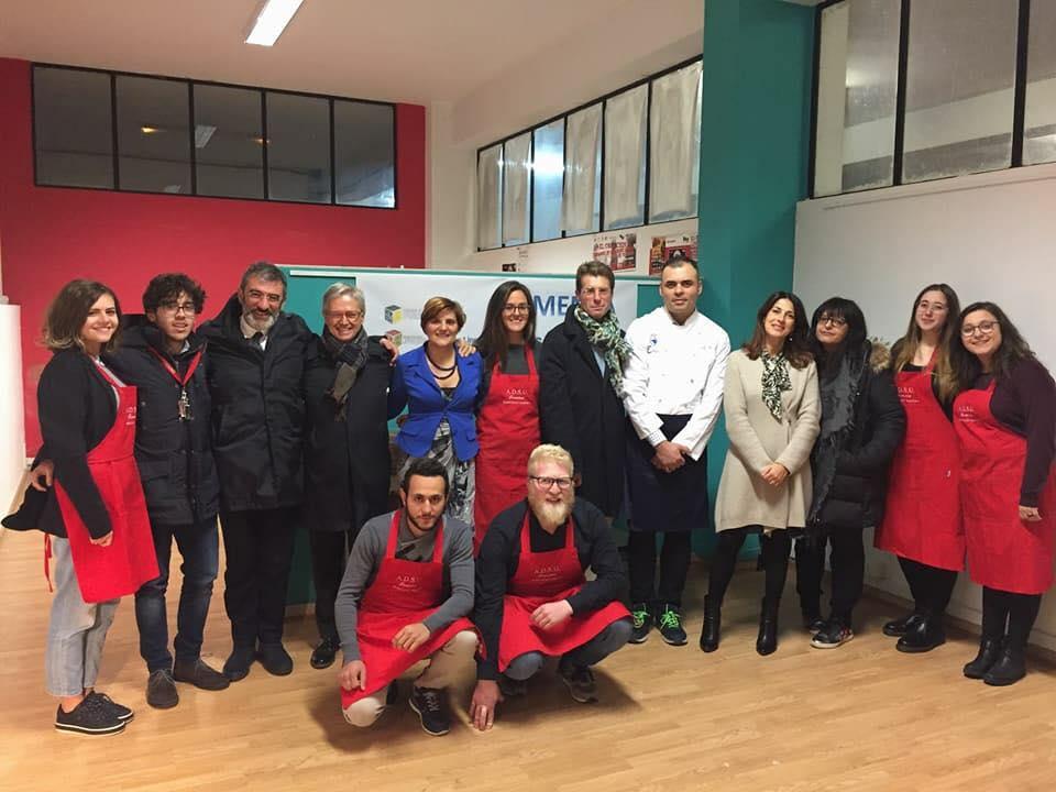 Staff partecipante al progetto mensa solidale