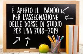 Borse di Studio 2018 - 2019