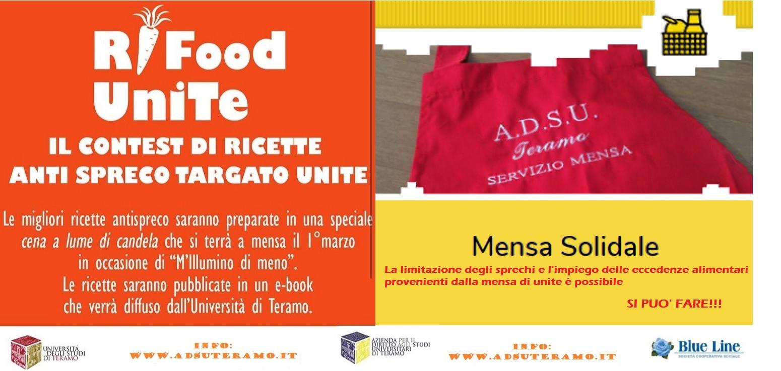Rifood Unite e Mensa Solidale Adsu Teramo